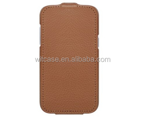 cheap PU flip leather phone case for samsung galaxy win i8552 case