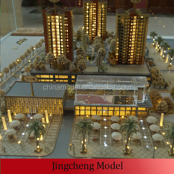 Miniature architectural model maker miniature house model 3d model house maker