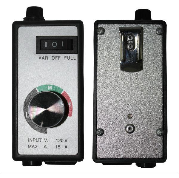 American dc motor digital inline fan speed controller