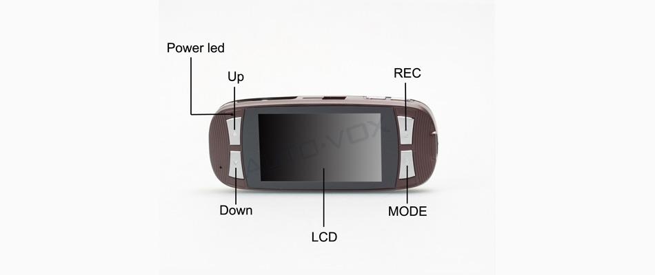 wdr ночного видения 1080p fhd камера автомобиля черный ящик