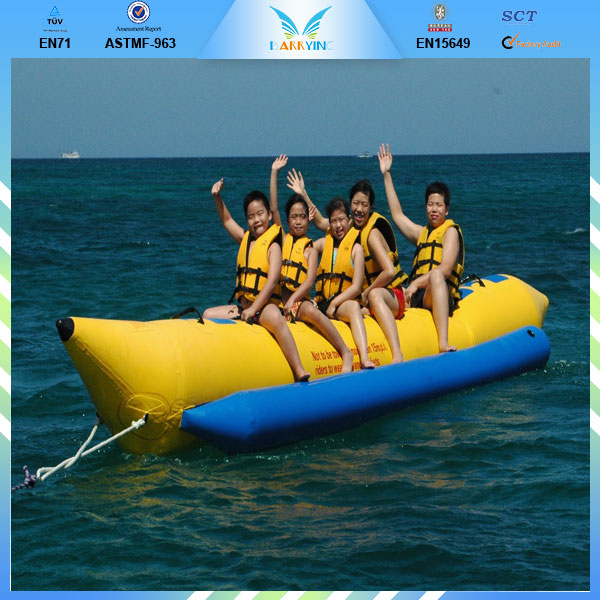 Banana boat inflatables,banana water sled inflatable boat