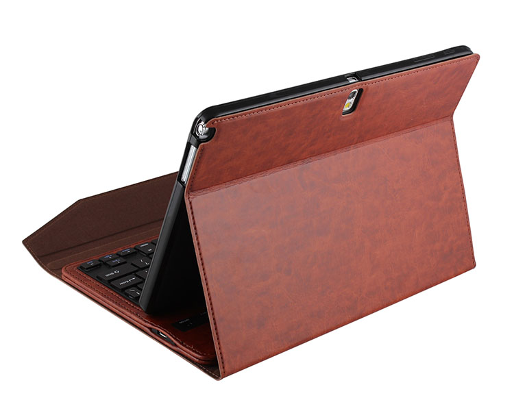 factory direct sell for samsung tab pro keyboard cover,bluetooth keyboard leather cover for tab pro 10.1 t520
