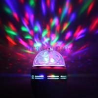 E27 полный цвет меняется привело rgb звук активации вращающейся сцене лампы лампочку