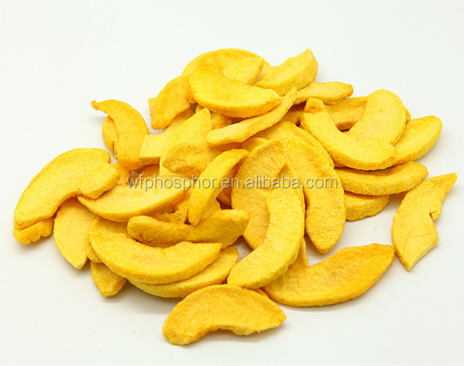 VF Dehydrated Yellow Peach Chips (Healthy Snack)