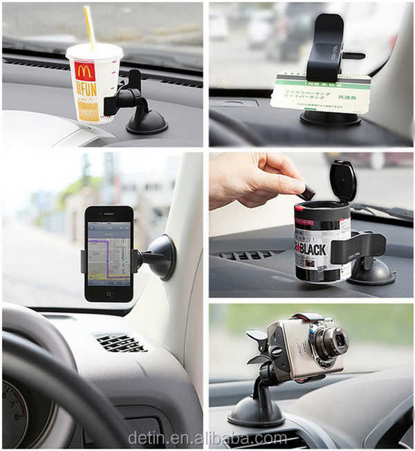Multifunctional 360 degree Car Mount for smart phone ,camera & tablet PC