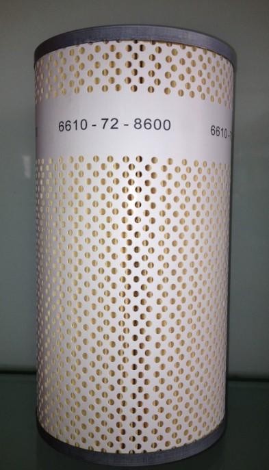 Komatsu нефти воды сепаратор 6610-72-8600 фильтр элемент