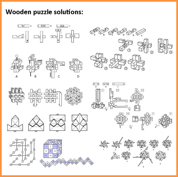 3d Wooden Puzzles Solutions 3d Wooden Puzzle Twisted