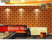 beauitiful тиснением современных твердых ПВХ Текстурированные обои рулоны печатных украшения дома l-5236