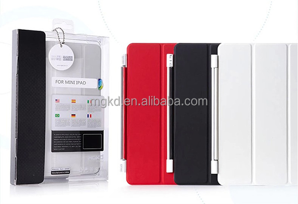 2014 newly pushing out MR.BOX PU leather case for ipad cover
