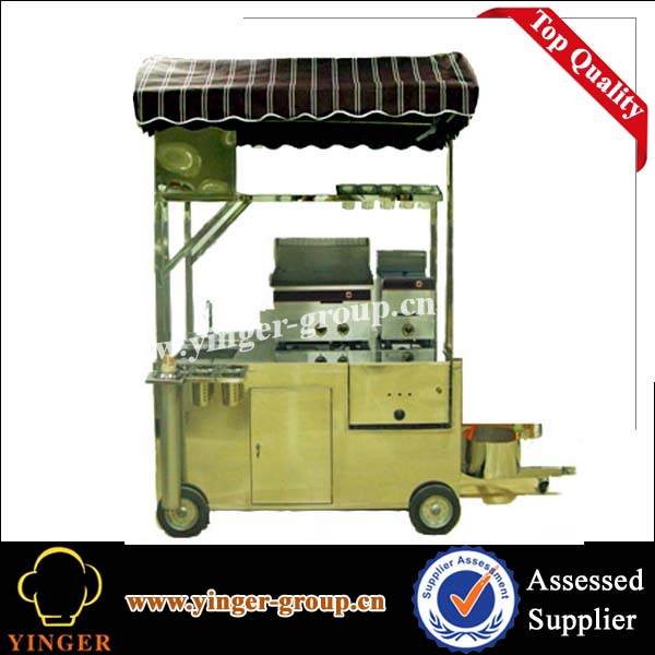 New style shopping mall indoor coffee kiosk cart food for Indoor food kiosk design
