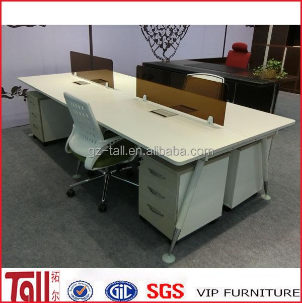 Bon Open Acrylic Office Workstation Desk Steel Furniture