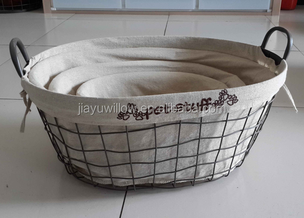 metal wire storage baskets with liners mesh baskets cheap wire basket & Metal Wire Storage Baskets With Liners Mesh Baskets Cheap Wire ...