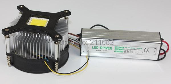 Как сделать радиатор на светодиод 115