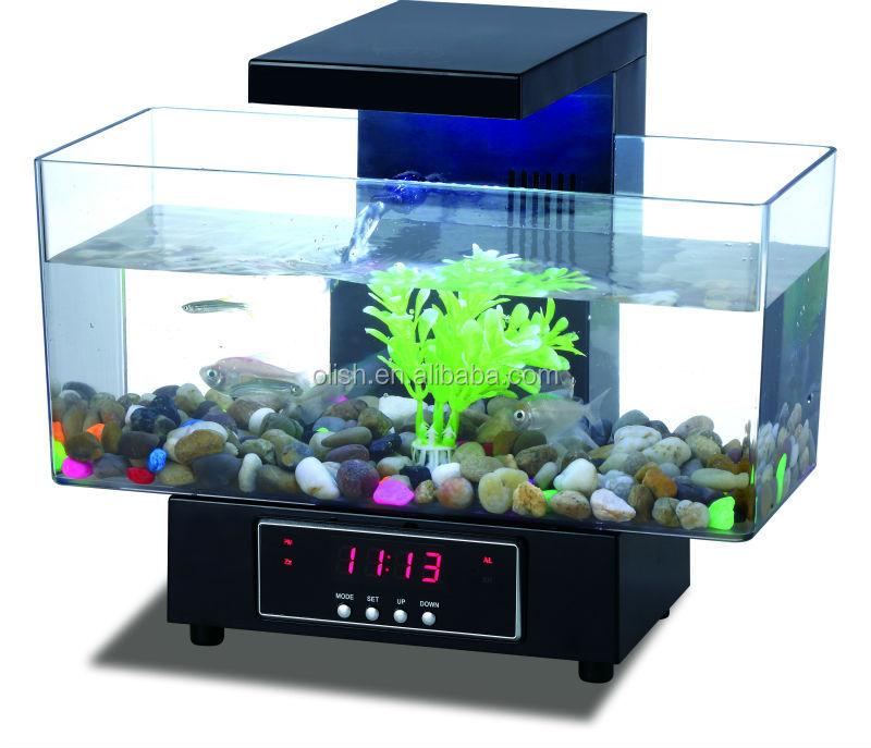 Multi Functional Usb Fish Tank Desktop Aquarium With Fm