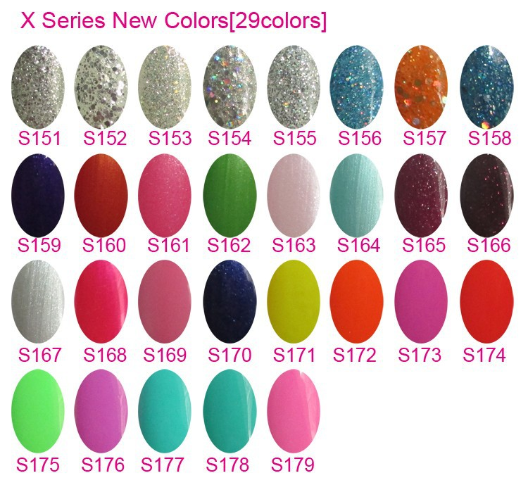 X NEW COLORS 29