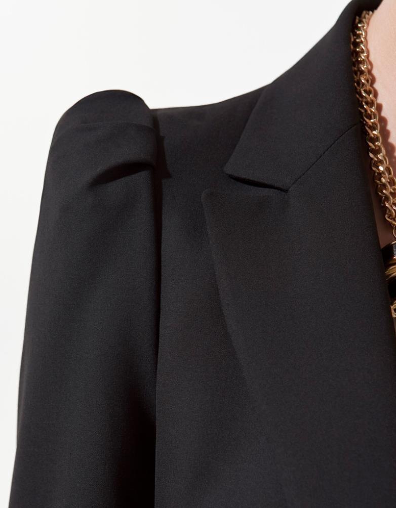 весной новые дамы плечо бизнес костюм пальто куртки blazer для женщин леди большой плюс размер моды бренда осень-зима