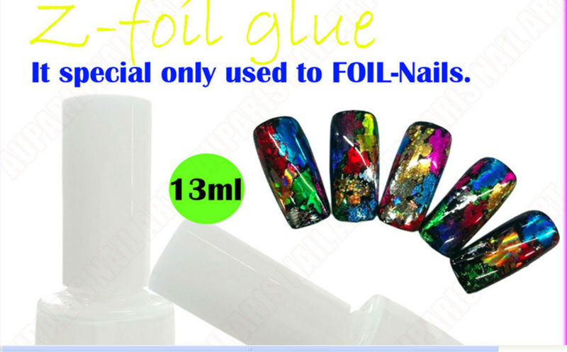 13ml Foil Adhesive Glue/ Nail Foil Glue/ Glue Nails/ Strong Nail ...
