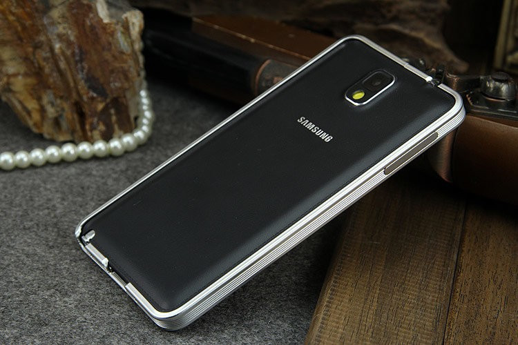 Ultra Thin Metal Aluminum Bumper For Note 3 N9000 (6)
