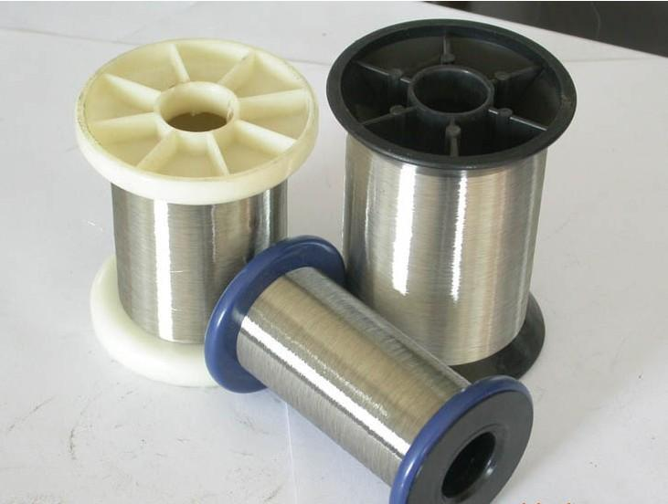 Купить SS304 SS321 SS316 DIY стальной трос из нержавеющей пружинной проволоки яркая поверхность диаметр 0.7 мм 1 кг