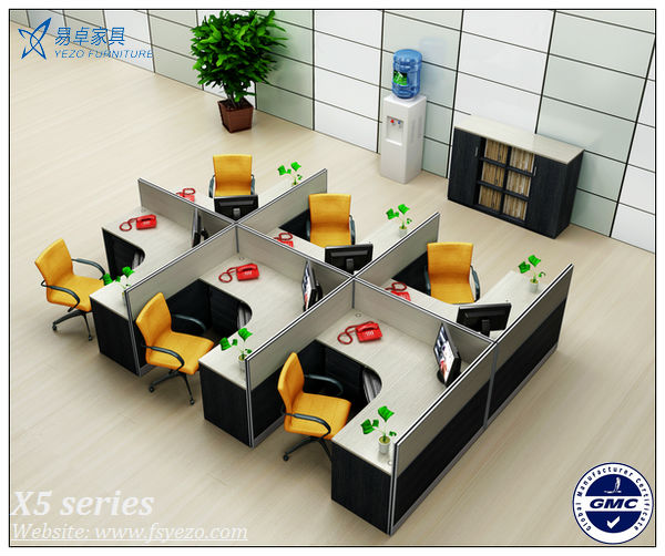 Wholesale modern office furniture partitions for 4 persons - Sofas modulares modernos ...