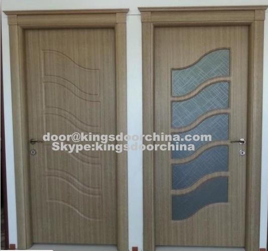 Design moderne style turc mdf pvc chambres en bois portes-Portes-ID ...