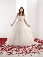 длинный хвост линии юбка с съемным поясом маленькие цветки розовые атласные складок пояса мыс Свадебные платья для толстая женщина