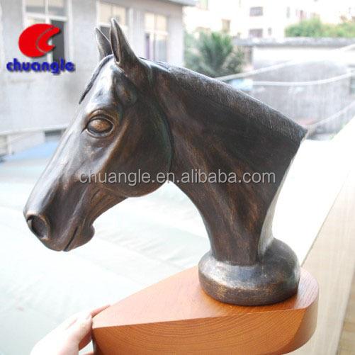 OEM polyresin horse figure, horse head figure, horse craft