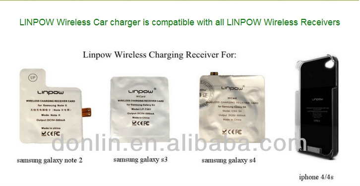 Patent wireless charger car battery charge