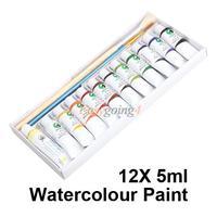 EA14 искусство воды цвет 12 тюбиков 5 мл Акварель краски f