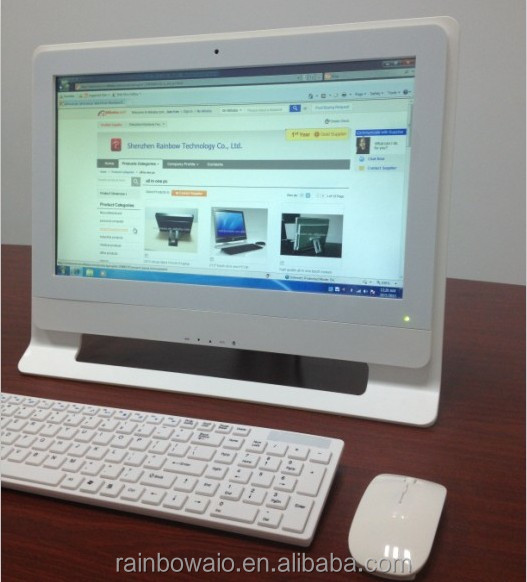 high quality 21.5 inch core i5 cheap touch screen all in one pc