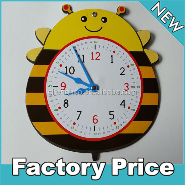 Como hacer relojes de pared para ni os imagui - Hacer un reloj de pared ...