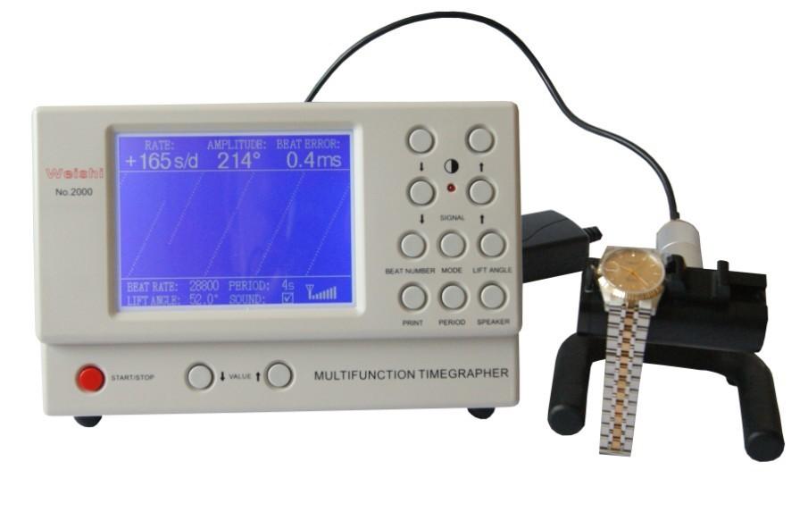 Смотреть Ремень Машина Многофункциональный Timegrapher НЕТ. 2000 для rolex часы ремонтников смотреть любителей