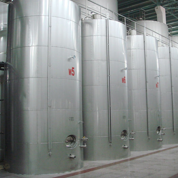 edible oil tank with inox material