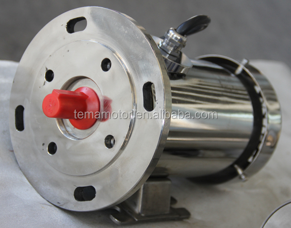 IEC Waterproof Stainless Steel Electric Motor SS63-100 TEFC Without terminal box