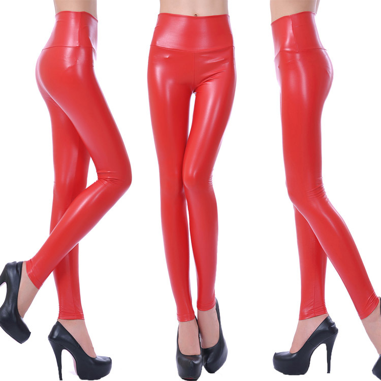 Skinny Faux Leather Leggings