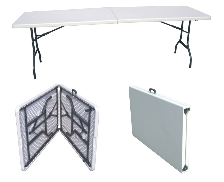Orizeal 6 foot cheap folding tables oz t2205 buy cheap for Folding table 6 x 4