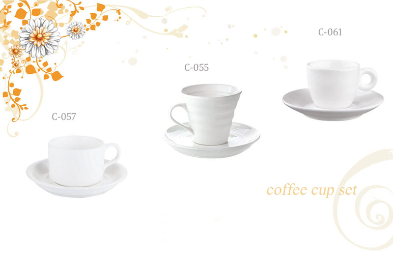 Coffee Cups And Saucers