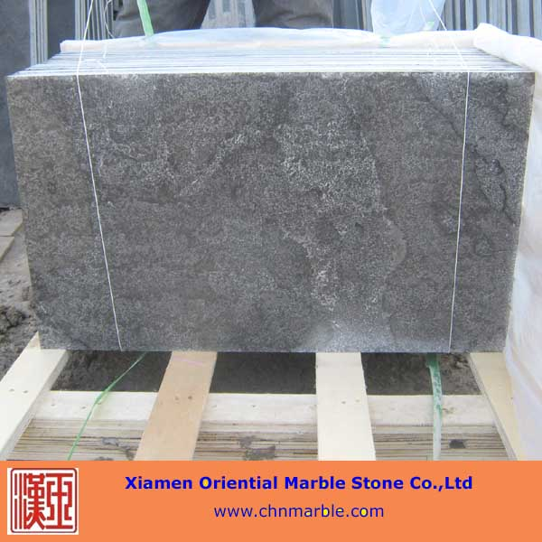 honed blue limestone