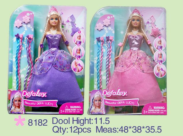 Fashion girl dress hair play accessories toys.jpg
