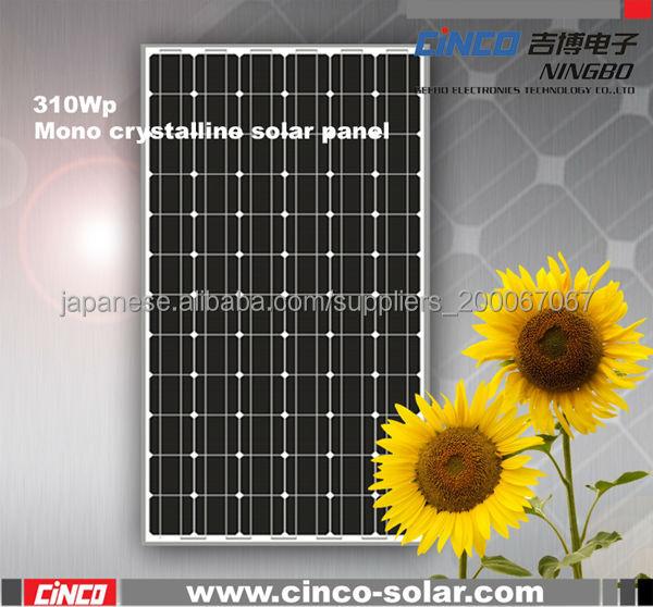 Panels Solar, 310W panels solar, mono crystalline panel solar