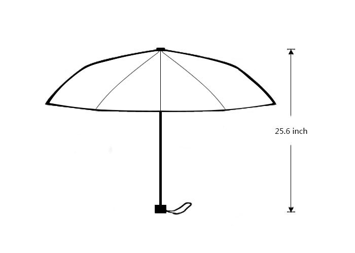 Зонт Custom you umbrella 43,5 25.6x21.7x13.8inch