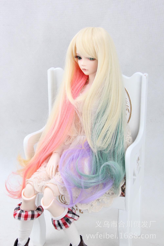 Бжд куклы парик своими руками 41