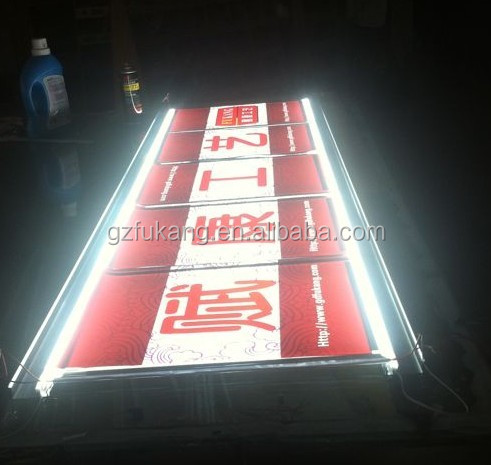 led lighting signboard designs view hanging restaurant menu board led