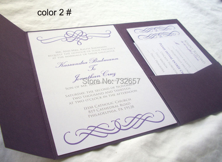 USA Wedding Invitations