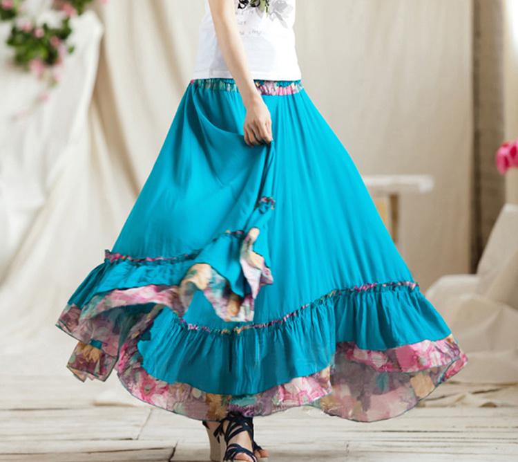 womens cotton skirts redskirtz