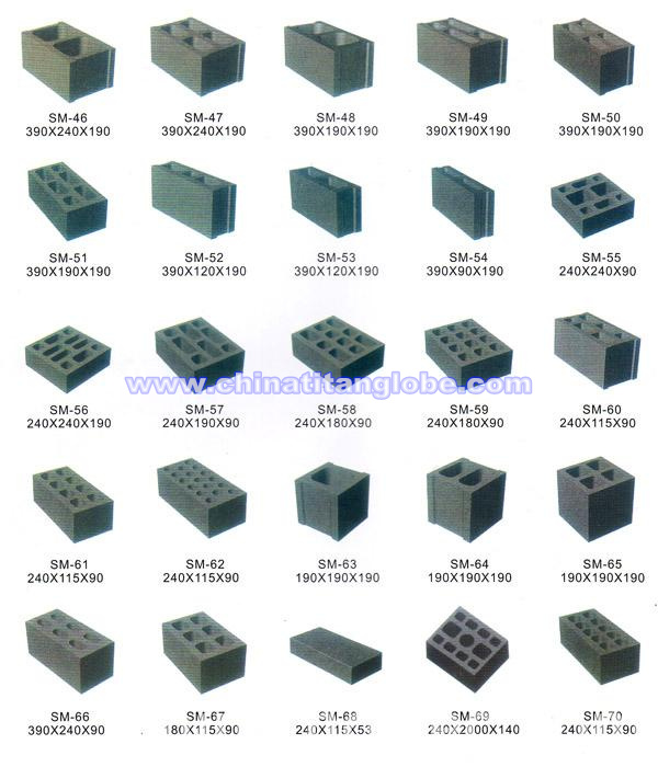 Types of Cement Blocks Cement Block Making