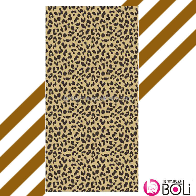 organic cotton towel /animal print bath towel