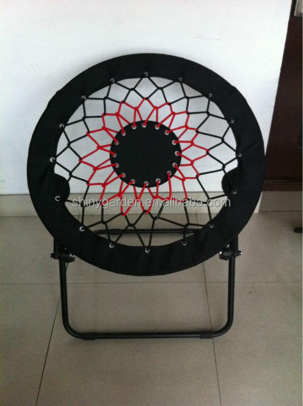 Steel moon chair bungee chair bunjo chair buy moon chair for Bunjo chair