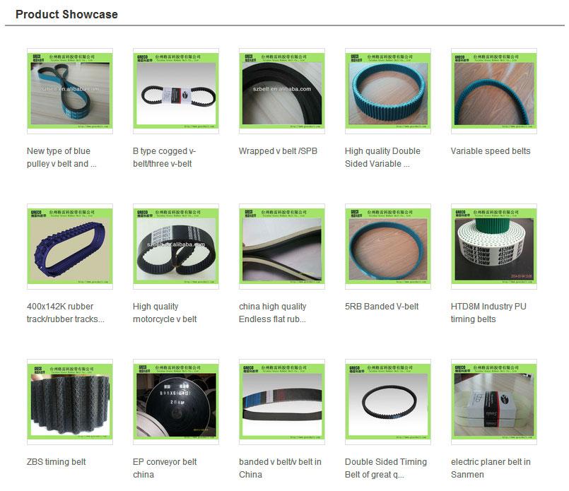 wrapped v belt for washing machine v belt size chart buy v belt rh alibaba com fenner v belt size chart v belt pulley size chart