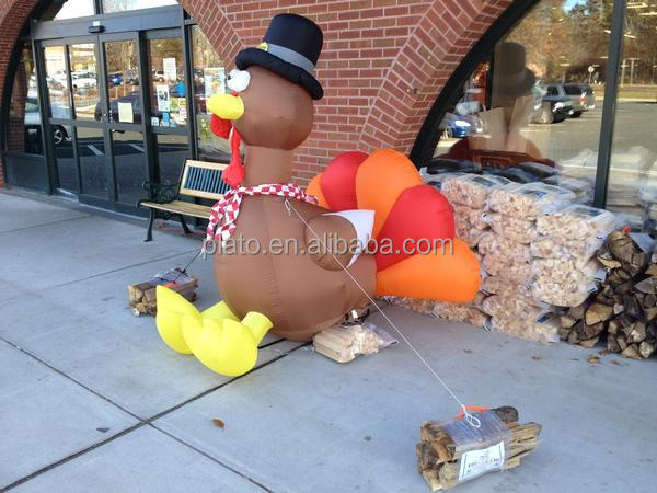 Thanksgiving inflatable decorative turkey